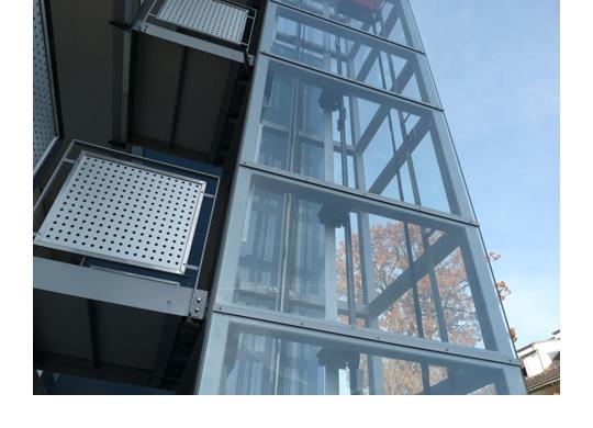 Glasbau-Stahlbau